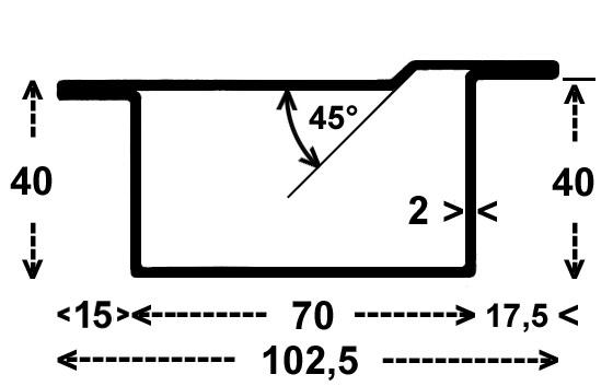 rp rohre l nge 6 m rp 1093 serie 40 mm 4 43 kg m l nge 6m ho p bk 4070 tk. Black Bedroom Furniture Sets. Home Design Ideas