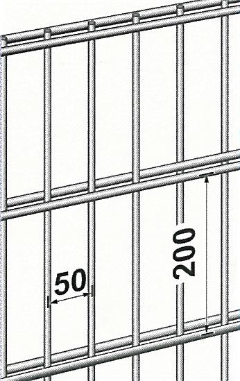 Neu Baustahlgewebe, Betonstahl, Draht, Wellen/Schweißgitter  BP09